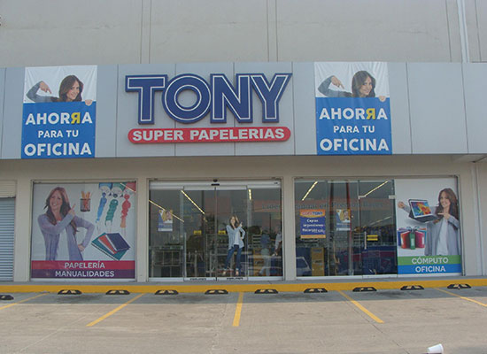 Tony Superpapelerias